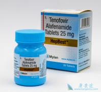 TAF/替诺福韦二代可降低体内乙肝病毒的含量