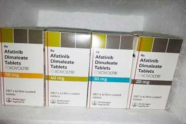 药物名称/商品名:阿法替尼(Afatinib)/Gilotrif